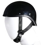 Shiny Black Gladiator Novelty Motorcycle Helmet