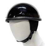 Shiny Novelty Motorcycle Helmet With Visor