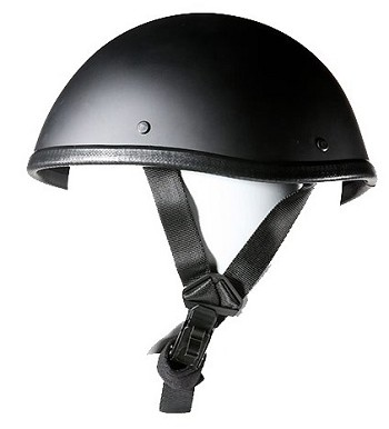 Smokey Style Black Novelty Motorcycle Helmet