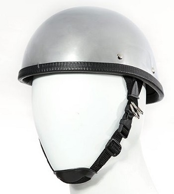 Chrome Eagle Novelty Motorcycle Helmet