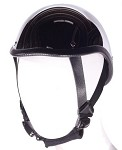 Chrome Gladiator Novelty Motorcycle Helmet