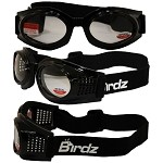 Motorcycle Goggles Clear with 1.0 Bifocals