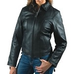 Womens Casual or Leather Motorcycle Jacket