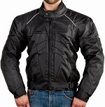 Black Armored Dirt Bike Motocross Motorcycle Jacket