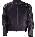 Biker Textile Armored Vented Motorcycle Jacket