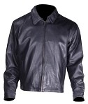 Mens Classic Fashion Casual Leather Jacket