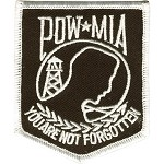 POW MIA Motorcycle Jacket or Vest Patch