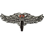 Chopper Wings Motorcycle Jacket Patch
