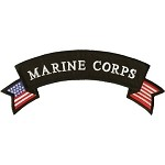 Marine Corps Motorcycle Vest and Jacket Patch