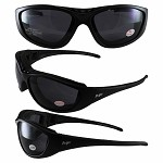 Smoke Motorcycle Sunglasses Goggles 1.0 Bifocals