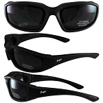 Universal Fit Motorcycle Sunglasses Dark Lenses