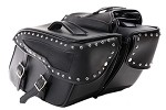Motorcycle Saddlebags With Studs