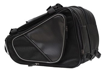 Reflective Throw-Over Textile Motorcycle Carry Bags