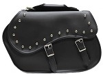 Classic Style Studded Motorcycle Saddlebags