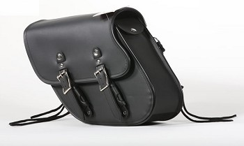 Motorcycle Swing Arm Bag with Quick Release Straps