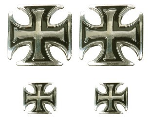 Chopper Cross Motorcycle Pins and Emblems