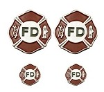 Fire Department Lapel Pins and Emblems