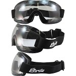 Lightweight Motorcycle Goggles Clear Lens