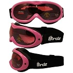 Snow Goggles Rose Mirror Lens Pink Frame