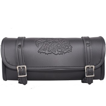 Motorcycle Tool Bag With Engraved Eagle