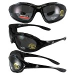 Motorcycle Sunglasses Goggles Smoke Lenses
