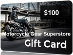$100 Gift Card - Motorcycle Gear Superstore