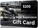 $200 Gift Card - Motorcycle Gear Superstore