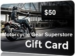 $50 Gift Card - Motorcycle Gear Superstore