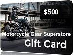 $500 Gift Card - Motorcycle Gear Superstore