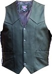 Men's Club Panel Back Vest Two Gun Pockets