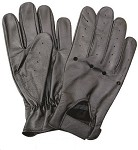 Unlined Vented Leather Riding Gloves