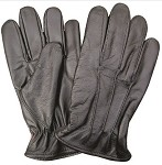 Men's Leather Lined Driving Gloves