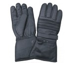 Biker Gloves Padded with Rain Shield