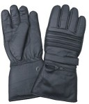 Padded Riding Gloves with Zipper Pocket