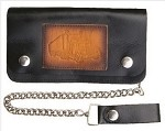 Truckers 6 Inch Chain Wallet with Semi Truck