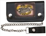 8 Inch Live to Ride Ride to Live Chain Wallet
