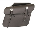 Medium Throw Over PVC Motorcycle Saddlebags