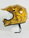 Youth Maple Camo DOT ATV Dirt Bike MX Helmet