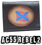 Leather Rebel Tri-Fold Chain Wallet