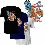 Live to Ride Ride to Live Eagle T-Shirt
