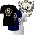 Bad to the Bone Cradle to Grave T-Shirt