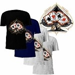 4 of a Kind Aces & Dice T-Shirt
