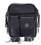 Womens Hip Bag Purse with Spider Web