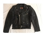 Men's Motorcycle Jacket with Zip-Out Lining