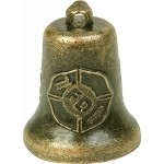 Bronze Fire Department Motorcycle Bell