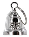 Skull Chrome Motorcycle Bell