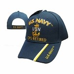 U.S. Navy Hat Chief Petty Officer Retired Cap