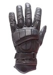 Padded Tight Grip Leather Motorcycle Racing Gloves