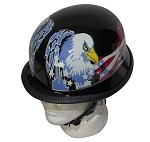US Flag Eagle German Novelty Motorcycle Helmet