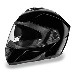 Gloss Black Bluetooth Modular Motorcycle Helmet